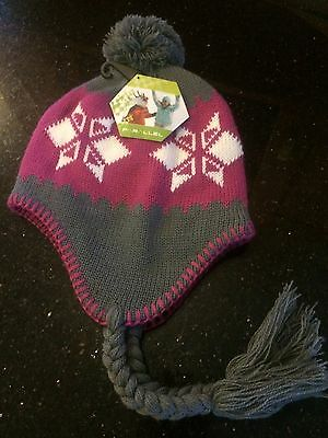 Children's Snowflake Knitted Hat.
