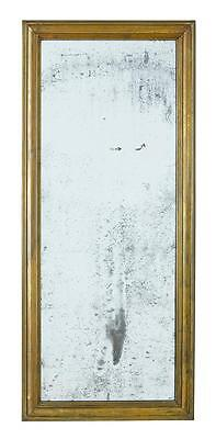 19Th Century Brass Wall Mirror