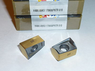 H490 Ankx 170608Pntr Ic810 Iscar *** 10 Inserts *** Factory Pack ***