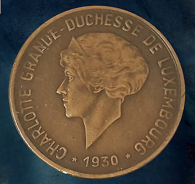 Pièce monnaie coin munt moneda 1930 - 10 centimes - Charlotte - Luxembourg 货币