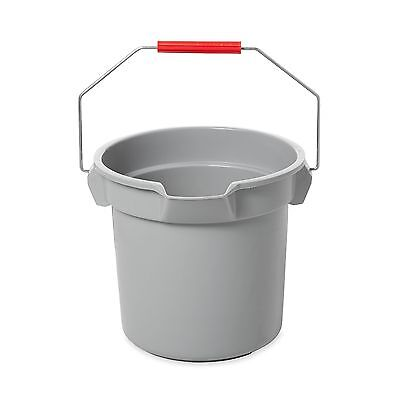 Rubbermaid Commercial BRUTE Bucket 14-Quart Gray New