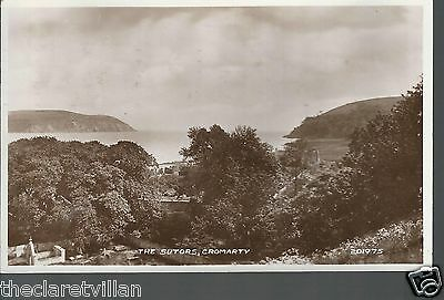 The Sutors Cromarty  _ 1951 Real Photograph