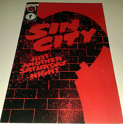Sin City Just another Saturday Night Wizard 1/2 edition Dark Horse Comics