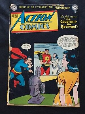 Action#149  Dc Golden Age Comic Low Grade Urestored-Single Owner Collection