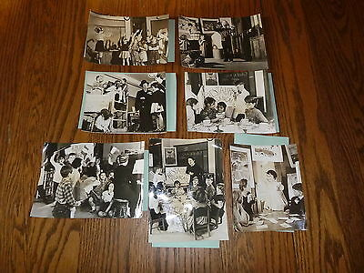 WW2 1944 Press Photo Set of 7 ~ New Methods of Teaching Foreign Languages in U.S