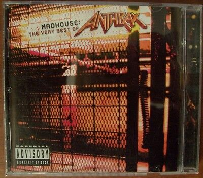 Anthrax : Madhouse - the Very Best of Anthrax CD (2001)