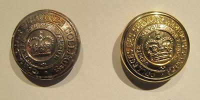 Royal Military College of Canada Post WWII Pair of Uniform Buttons