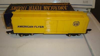American Flyer 637 MKT Katy Box Car With Box  Link Couplers