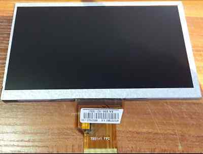 Replacement 7 inch LCD Screen Display Panel For 7DD1+1 FPC 50pin 165x100mm  Y908