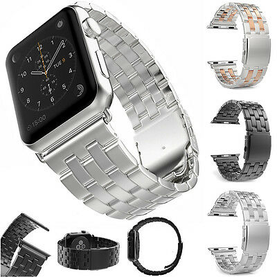 Luxury Stainless Steel Bracelet Wrist Strap Band For Apple Watch iWatch 42mm
