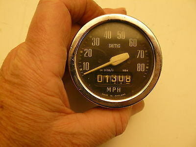 Speedometer for Triumph Tiger Cub-working