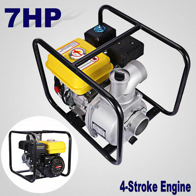 """3"""" Semi Trash & Gas Water Transfer Pump 3 inch inlet outlet NPT Power Equipment"""