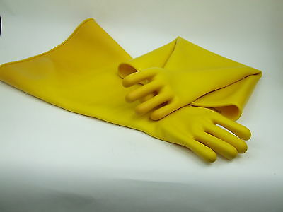"Sandblast Cabinet Gloves 8"" Sandblasting Industrial Latex Australian Made"