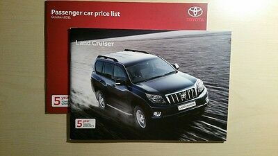 Toyota Land Cruiser Brochure Sept 2011 (2012 MY)(LC3/LC4/LC5 60th Anniversary)