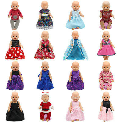 Doll Clothes Fit 43cm Zapf Baby Born Doll Cute Jackets & dress