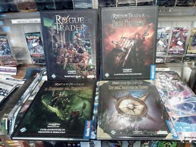 Rogue Trader In Italiano Manuale Base & Supplementi & Bundle Gioco di Ruolo