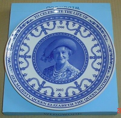 Wedgwood Collectors Plate TO CELEBRATE THE LIFE OF THE QUEEN MOTHER