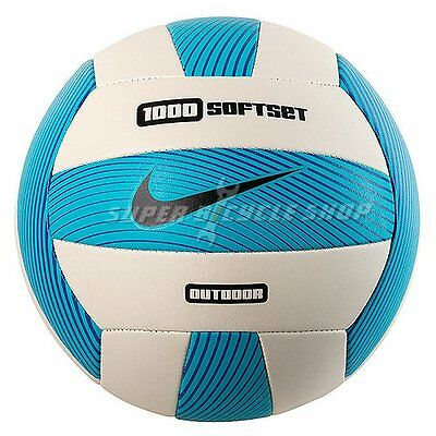 NIKE 1000 Softset Volleyball Outdoor Beach Volleyball , Blue x White