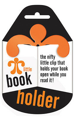 Little Book Holder - Holds your Book Open - Orange