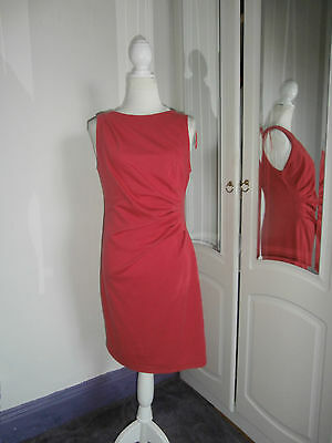 BNWT New look size 14 coral jersey sleeveless  dress