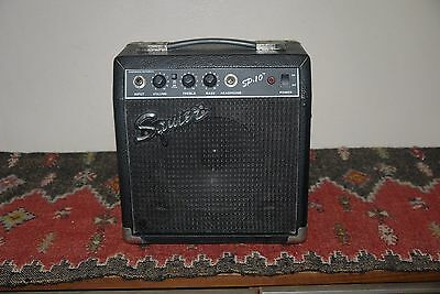SQUIRE SP.10 Portable Amplifier Amp Guitar Speaker 22 Watts 4 OHMS