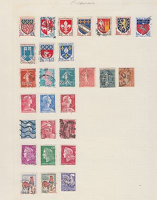 FRANCE COLLECTION on Old Book Pages (removed to send) #
