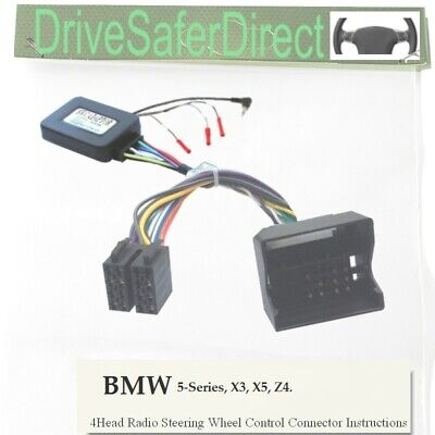 ANAlogz-SWC-0451-02 Analogue Steering Wheel Control for ISO Radio/BMW X3 E83