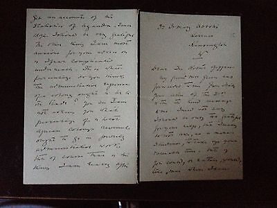 Mary Henrietta Kingsley - Writer & African Explorer - 4 Page Signed Letter