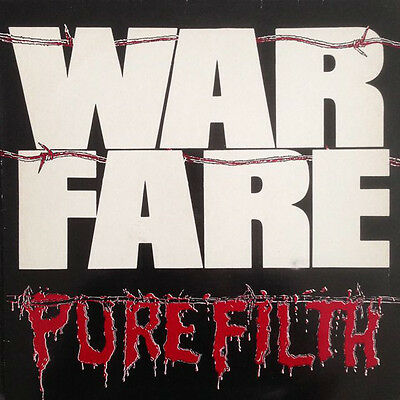 "WARFARE Pure Filth NEAT LP & 7"" VINYL 1984 PUNK THRASH METAL VENOM NWOBHM KBD"