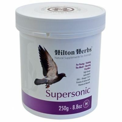 HILTON HERBS SUPERSONIC bird supplement high energy boost for racing pigeon
