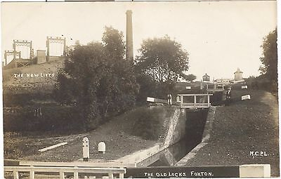 The New Lifts, The Old Locks, Foxton RP of canal, Leicester, Market Harborough