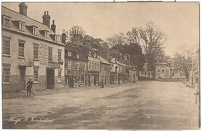 High Street, Kimbolton. shows White Lion Hotel