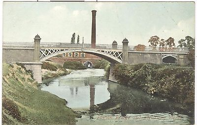 Powick Bridge and Electricity Works nr. Worcester, Malvern
