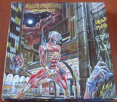 IRON MAIDEN: Somewhere In Time - Lp 1986 UK