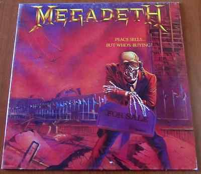MEGADETH: Peace Sells... But Who's Buying? - Lp 1986 ITA