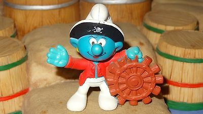 SMURFS EUROPEAN MCDONALDS HAPPY MEAL PIRATE SMURF Rare Vintage 2004 Figure