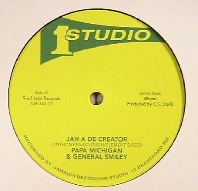 PAPA MICHIGAN/GENERAL SMILEY/BRENTFORD DISCO SET - Jah A De Creator - 12""