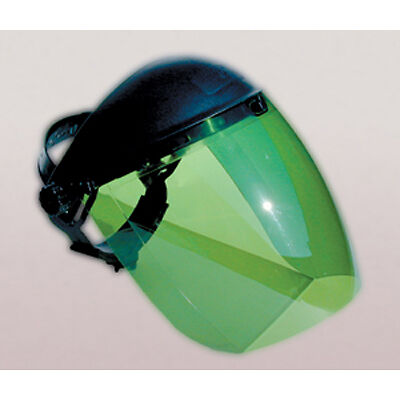 SAS Safety 5147 Deluxe Face Shield - Green Lens