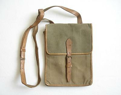 Bulgarian Officer's Canvas Map Case Document Bag