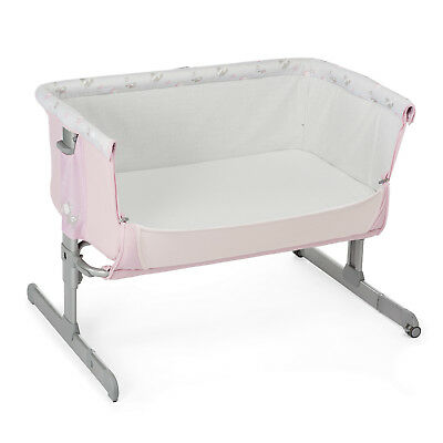 "Chicco Side Sleeping Crib Next2Me ""Silver"" Baby Crib Next 2 Me Brand NEW"