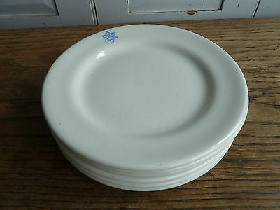 ONE side plate from Jewish cafe hotelware Star of David Judaica Judaism Masonic