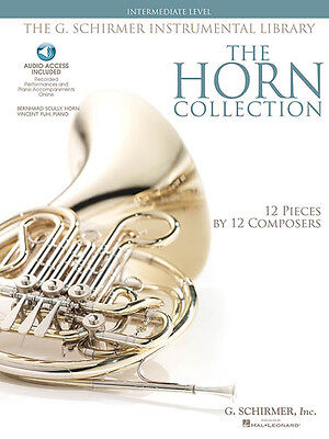 Horn Collection Intermediate Level Classical Sheet Music Book & Online Audio NEW