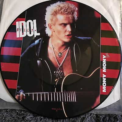 "Billy Idol - Mony Mony (1987) 12"" VINYL PICTURE DISC"