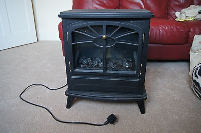 electric fan woodburner  type stove heater fire fireplace wood burner