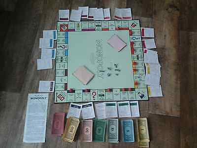 Vintage Monopoly Game From 1960's Collectable