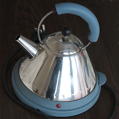 Alessi Blue Electric Cordless Kettle MG32 Type 22