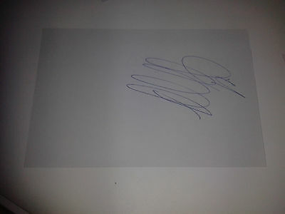 Celtic FC Moussa Dembelle HAND SIGNED card