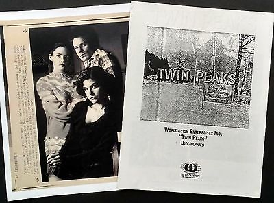 Twin Peaks Worldvision Press Pamhlet