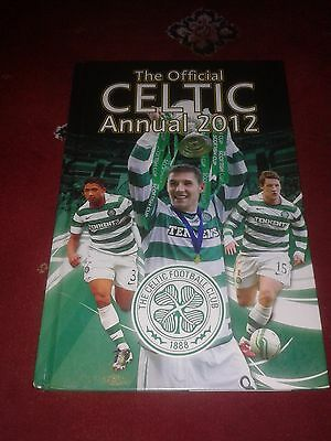 Celtic FC Annual 2012 HAND SIGNED 8 SIGNATURES