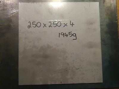 4mm Stainless Steel Sheet Plate 250x250x4